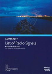 NP281(2) - Admiralty List of Radio Signals (ALRS): Volume 1 - Part 2, Maritime Radio Stations (The Americas, Far East and Oceania) 18/19 Ed.