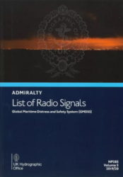 NP285 - Admiralty List of Radio Signals (ALRS): Volume 5, Global Maritime Distress and Safety System (GMDSS), 19/20 Ed.