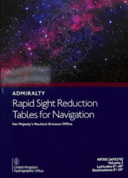 NP303(2) - Rapid Sight Reduction Tables - Lat 0°-40° (2019)