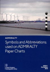 NP5011 - Symbols and Abbreviations used on Admiralty Charts, 7th Edition (2018)