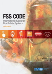 The International Code for Fire Safety Systems (FSS Code) presents engineering specifications for fire safety equipment and systems required by SOLAS chapter II-2 including, among others: international shore connections; personnel protection: fire extinguishers: fixed gas fire-extinguishing systems; fixed foam fire-extinguishing systems; fixed pressure water-spraying and watermist fire- extinguishing systems; automatic sprinkler, fire detection and fire alarm systems; fixed fire detection and fire alarm systems; sample extraction smoke detection systems; low-location lighting systems; fixed emergency fire pumps; arrangement of means of escape; fixed deck foam systems; inert gas systems; and fixed hydrocarbon gas detection systems.