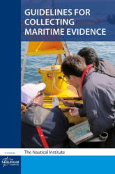 Guidelines for Collecting Maritime Evidence aims to provide broad answers to two questions. Firstly, how should a Master react after an incident when several investigating bodies are knocking on the door, all with differing requirements and priorities. Secondly, how can the Master, crew and management ashore be ready to produce the evidence required, much of which demonstrates day-to-day operations and compliance with the ISM Code and applicable statutes.  This second volume in the Collecting Maritime Evidence series focuses on electronic evidence – what it is, how to preserve and collect it, and how it can be used to understand the circumstances that led to a maritime incident.