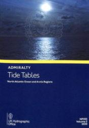 NP202-21 - BA Tide Tables Vol 2 - North Atlantic Ocean 2021 Edition