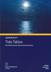 NP207-20 - BA Tide Tables Vol 7 - South West Atlantic Ocean and South America 2020 Edition