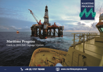 Click to view the Maritime Progress Guide to 2019 IMO Signage Update