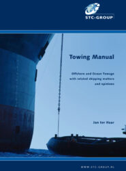 Over 40 years of sea-going experience, of which more than 30 years experience in ocean towage and salvage is expressed in this 'Towing Manual'.